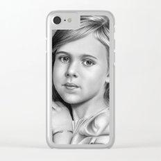 Child Portrait 01 Clear iPhone Case