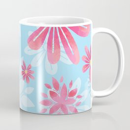 Floral Dream Springtime Flowers Coffee Mug