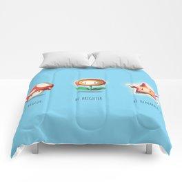Be.  Comforters