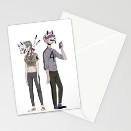 f o u r Stationery Cards
