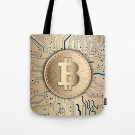Bitcoin Miner Tote Bag