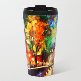 Starry Night Tardis Travel Mug