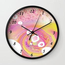 White Circle bis Wall Clock