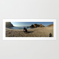 big sur Art Prints featuring Big Sur by Dan Brian