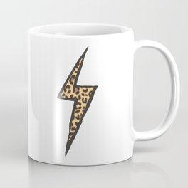 leopard lightning spark Coffee Mug