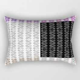 Wheels or Flowers? Rectangular Pillow
