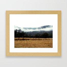 chillin kangeroos Framed Art Print