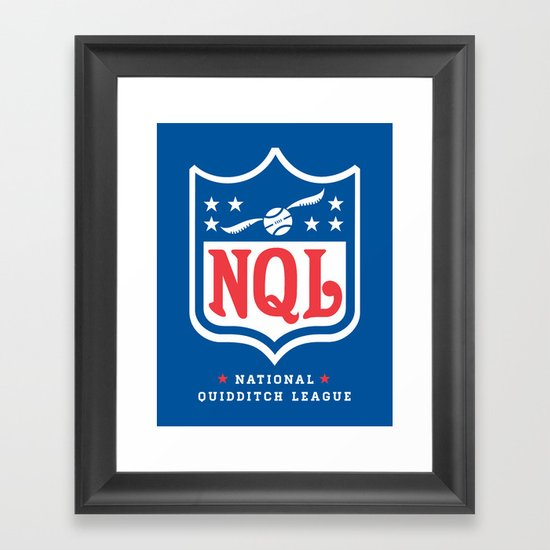 NQL Framed Art Print