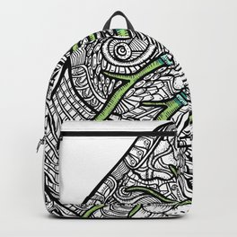 Blue & Green Lungs Backpack