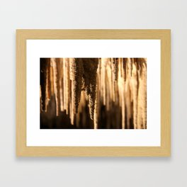 Stalagmieten Framed Art Print