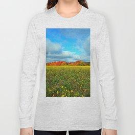 Autumn's Contrasts Long Sleeve T-shirt