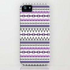 Tribal Purple Slim Case iPhone (5, 5s)
