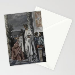 Plato's Symposium by Anselm Feuerbach Stationery Cards