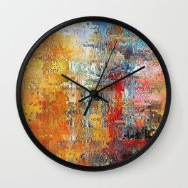 Marketplace Wall Clock