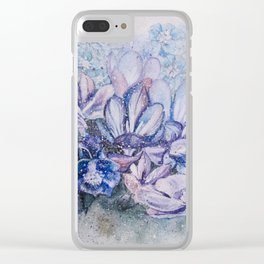 Flowers / Hana Clear iPhone Case