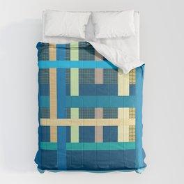 Playful Plaid and Polka Dots Comforters