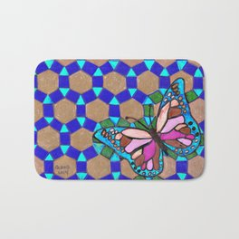 Butterfly #2 Bath Mat