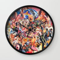penis Wall Clocks featuring Broken Penis Orchestra - Fuck Rockin in American Airspace (F RIAA) by reservenote