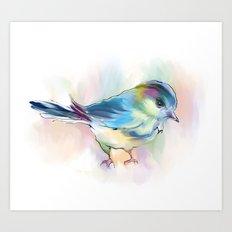 singing birdie4 Art Print