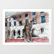 Paris Sketchbook Art Print
