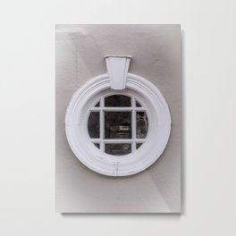 The round window Metal Print