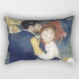 The Country Dance by Renoir Rectangular Pillow