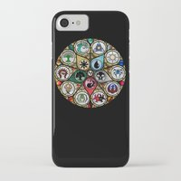 magic the gathering iPhone & iPod Cases featuring Magic the Gathering - Stained Glass by omgitsmagic