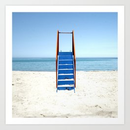 Ladder to the Skies Art Print
