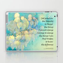 Serenity Prayer Manzanita Laptop & iPad Skin