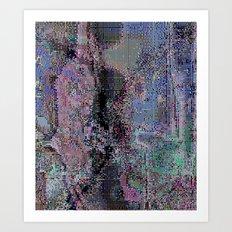 bade frame_2 Art Print