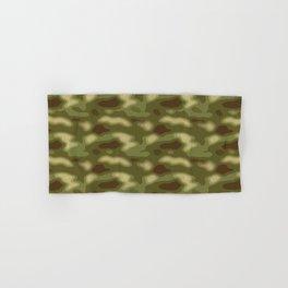 Camouflage Pattern Hand & Bath Towel