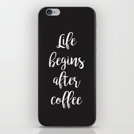 Coffee iPhone Skin