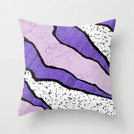 Torn Abstract Art 06 Throw Pillow