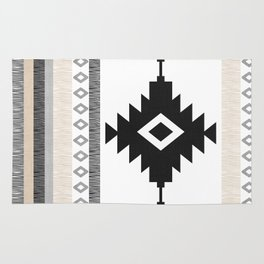 Pueblo in Tan Rug