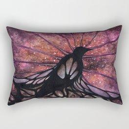 Crow Beginnings Rectangular Pillow
