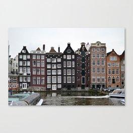 Classic Amsterdam Canvas Print