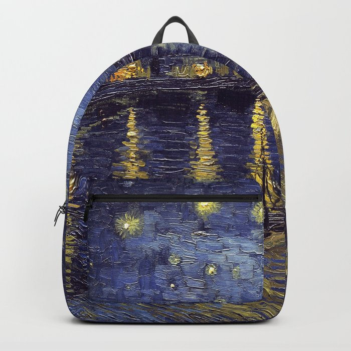 Vincent Van Gogh Starry Night Over The Rhone Backpack