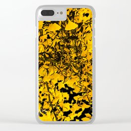 Ginko Leaves In California Clear iPhone Case