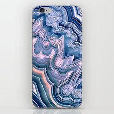 Agate ornaments iPhone Skin