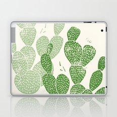 Linocut Cacti #1 Laptop & iPad Skin