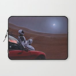 Red Car for the Red Planet Laptop Sleeve