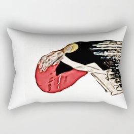 Thinking (number 03) Rectangular Pillow