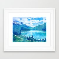 alaska Framed Art Prints featuring Alaska by Acacia Alaska