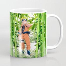 Hero anime in the bamboo forest Coffee Mug