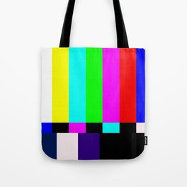 No Signal TV Tote Bag