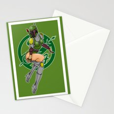 Star Wars Fett pinup Stationery Cards