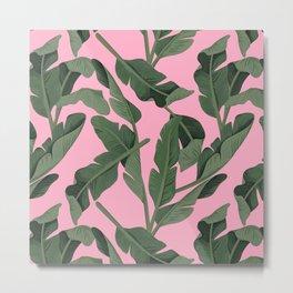 Tropical '17 - Forest [Banana Leaves] Metal Print