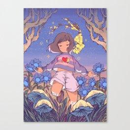 Undertale Flora Canvas Print