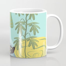 Mojo in the garden Coffee Mug