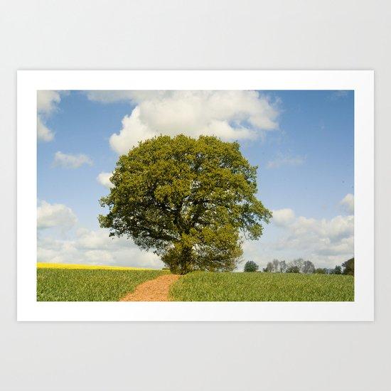Path to my Tree Art Print